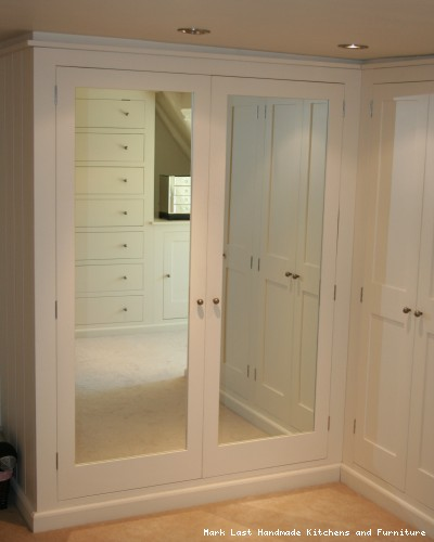 Luxury Handmade fitted bedroom furniture including wardrobes and