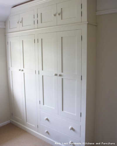 Handmade Fitted Wardrobes For Luxury Bedrooms By Mark Last